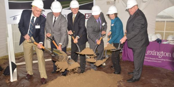 Lexington Clinic Beaumont Groundbreaking