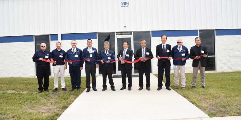 American Howa Cuts The Ribbon On Their New Facility In